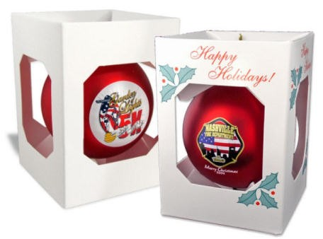 Imprinted Christmas Ornaments