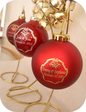 additional information on our wedding favors christmas ornaments